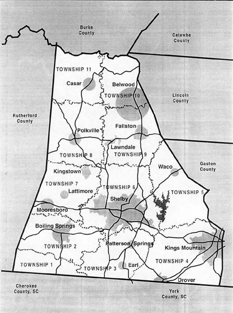 Gaston County Maps And Charts