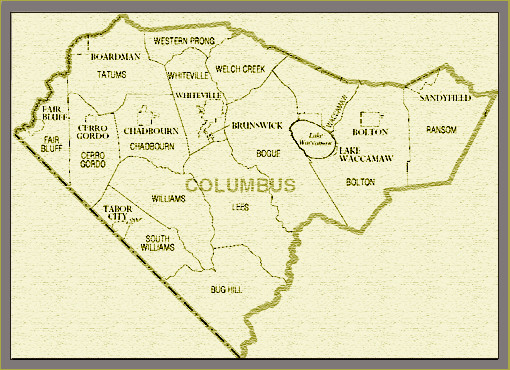 Columbus County NC Genealogy at NCGenWebcolumbus county