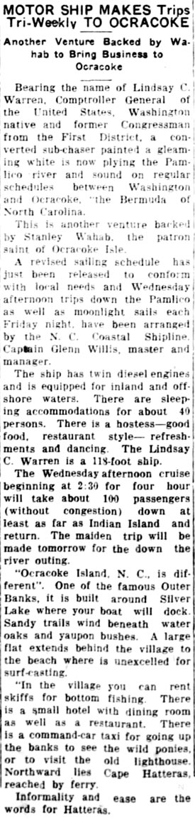 Hyde Co Nc Newspaper Abstracts 1821 1942