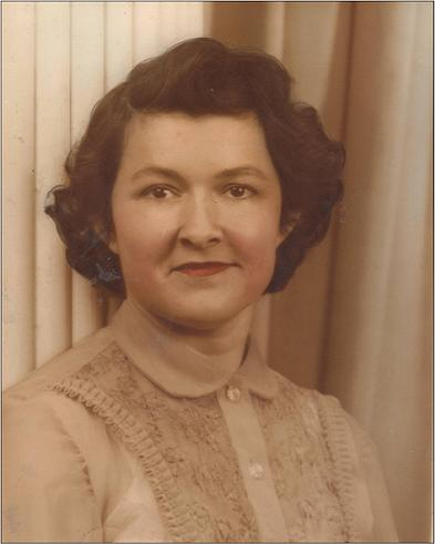 Sallie Mae Gilbert in 1940