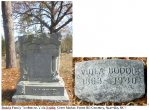 Viola Boddie's Grave