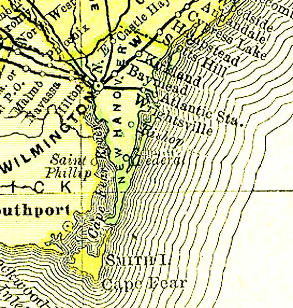 New Hanover County Maps And Deeds - Wilmington on us map