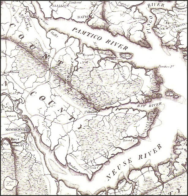 PriceStrothers Map - 1808 map of the us