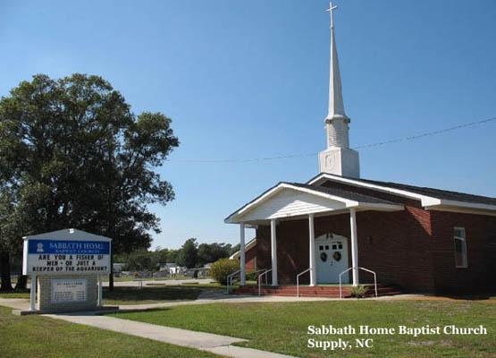 Sabbath Home Baptist Church Cemetery 990 Road Sw Holden Beach Nc 28462 Wgs84 Gps 3 55m 50 6s North 078m 16d 057s West